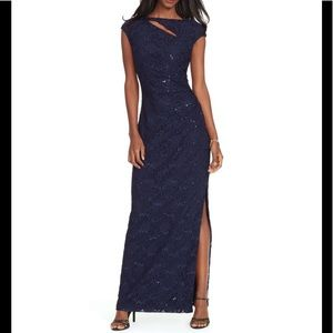 Ralph Lauren Jennyella evening gown maxi dress